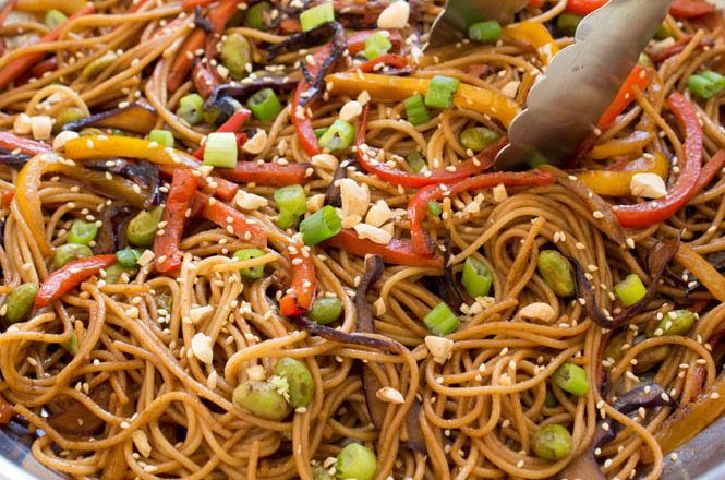Noodles with Vegetables Recipe