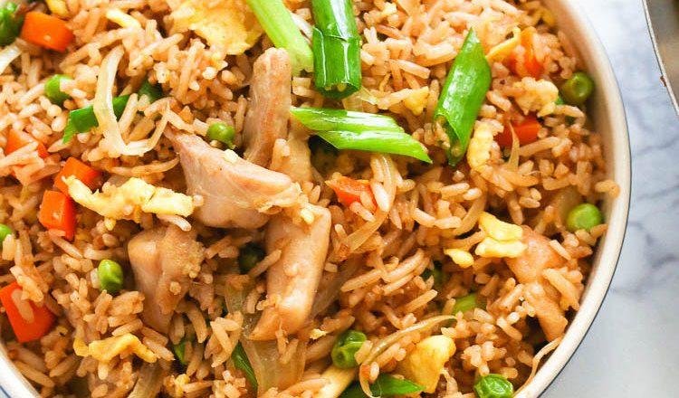 Oriental Chicken with Rice Recipe